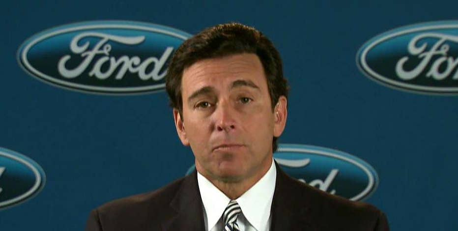Ford Motor Company CEO & President Mark Fields on why Ford is canceling the $1.6B plant in Mexico and what he thinks of President-elect Donald Trump.