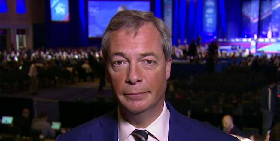 Former UKIP Leader Nigel Farage weighs in on the global press' media bias toward the conservative movement.