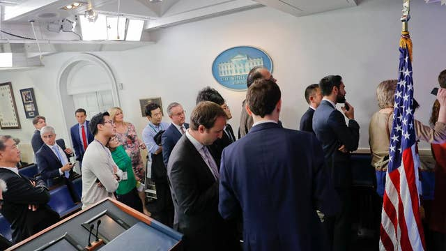 Why certain media members not invited to a WH briefing