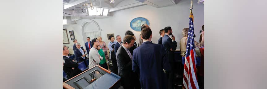 Why Certain Media Organizations Were Barred From WH Press Gaggle