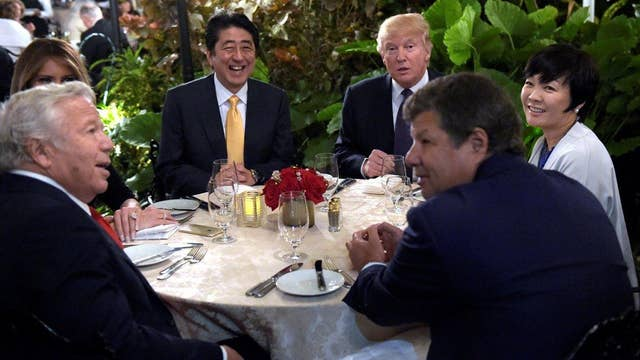New England Patriots owner on dinner with President Trump
