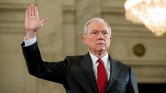 The process of confirming Sen. Sessions as Attorney General