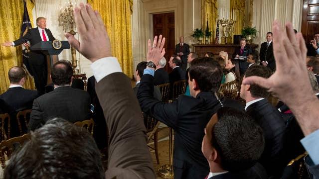 Trump takes on the mainstream media