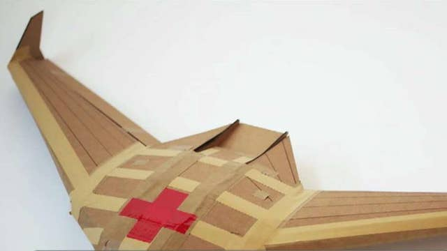Cardboard drones could prove indispensable in emergency situations