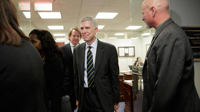 Sen. Steve Daines on his meeting with Judge Gorsuch