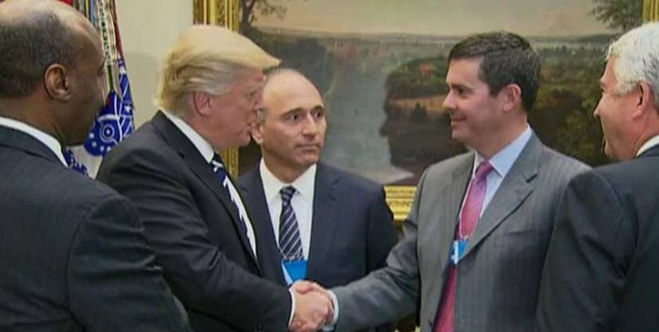 Eli Lilly President and CEO David A. Ricks on his meeting with President Donald Trump.