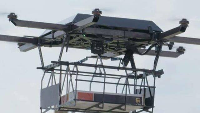UPS tests green delivery drones from the top of trucks