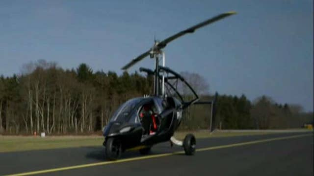 Avoid traffic with new flying car?