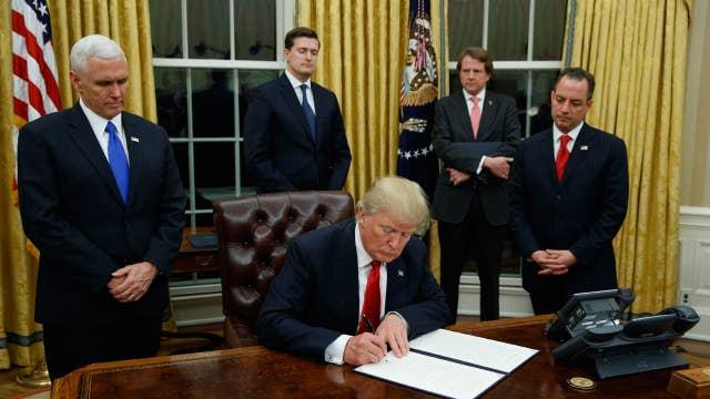 Washington D.C. AG: Trump's executive order goes too far