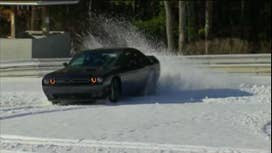 Muscle car built to take on the snow