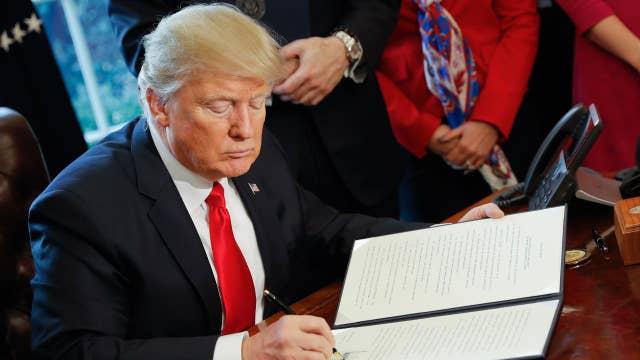 Fmr. Sen. Scott Brown on trade, Trump's tax cut plan