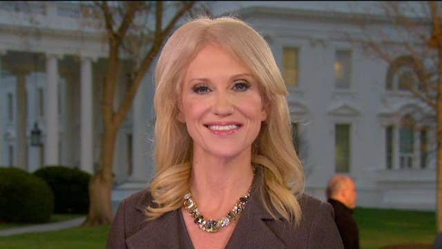 Kellyanne Conway: I meant no disrespect by putting my feet on the couch