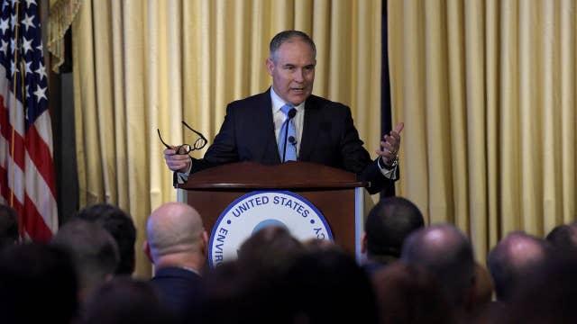 EPA's Pruitt to take on two key Obama Administration regulations