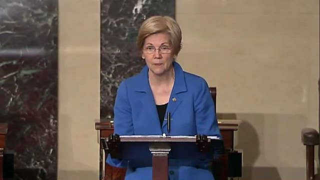 Rep. Jordan: Elizabeth Warren's been out of control