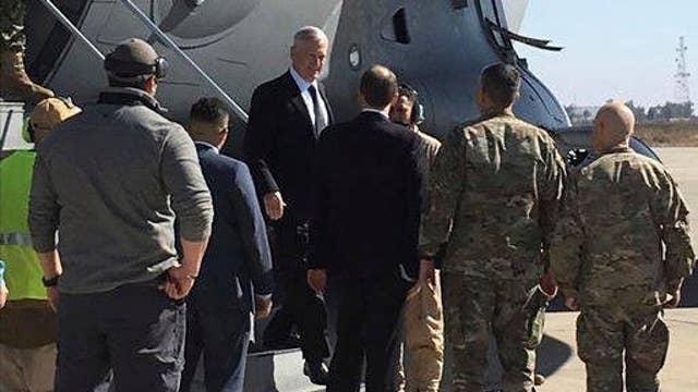 What is Gen. Mattis' plan for troops?