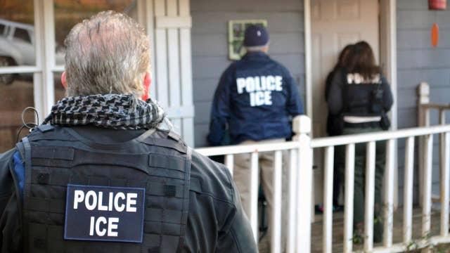 Media attacking Trump over ICE raids?