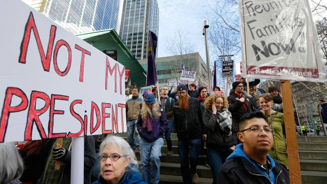 How effective are the 'Not My Presidents Day' protests?