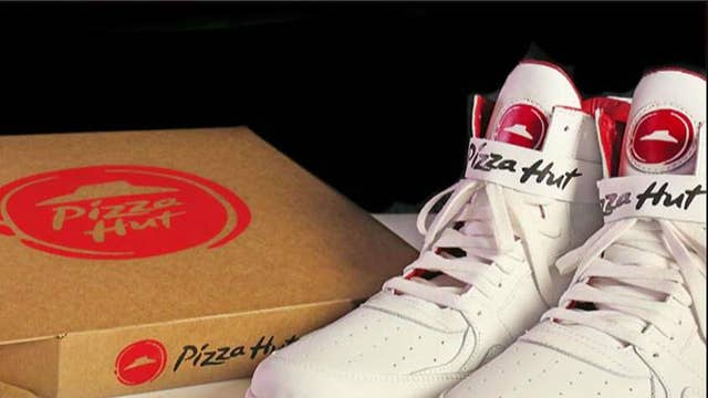Ordering a pizza a slam dunk with Pizza Huts' 'Pie Tops' sneakers