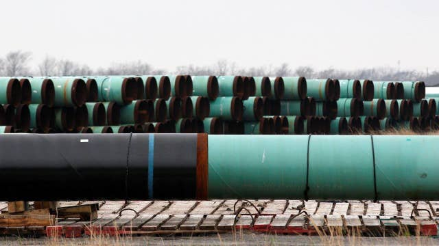 Keystone Pipeline the first step in government's infrastructure plan?