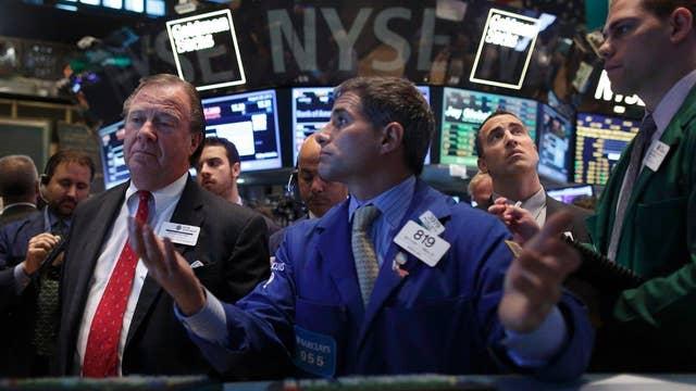 Investors ignoring political turmoil?