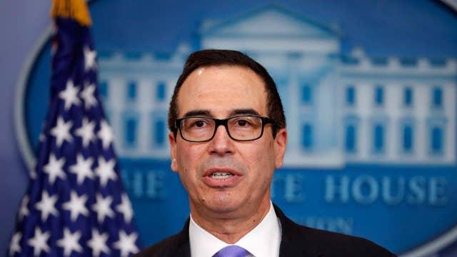 Treasury secretary takes on trade at G20