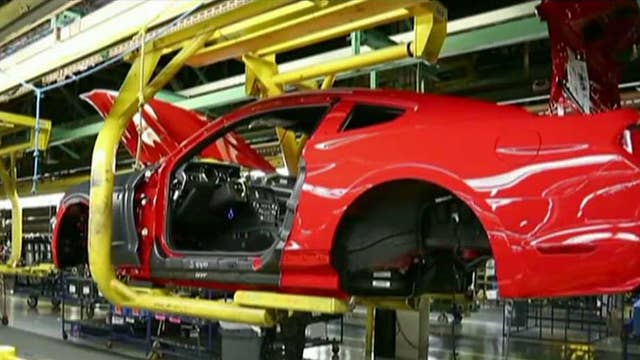 Ford invests in three Michigan plants