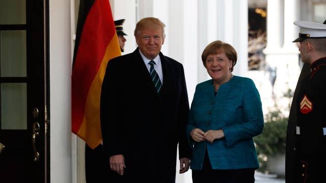 Can Trump, Merkel find common ground?