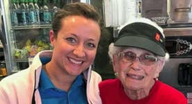 Fmr. McDonald's CEO Honors 94-Year-Old Employee after Decades of Service