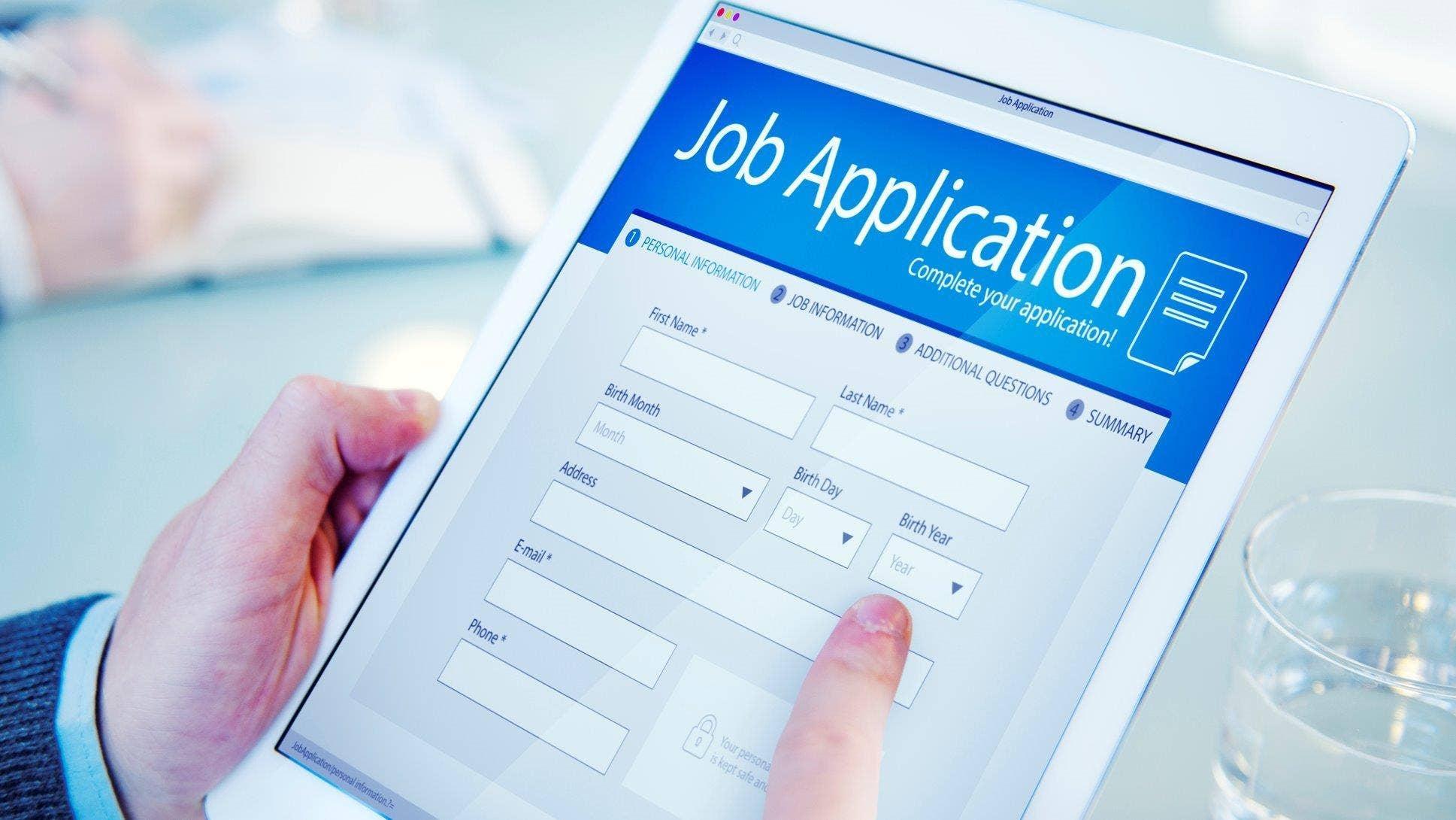 Essay test for job applicants