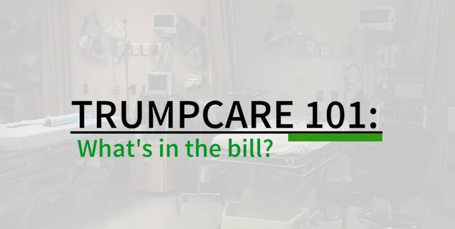 We breakdown 5 main points of what's in and what's out of TrumpCare.