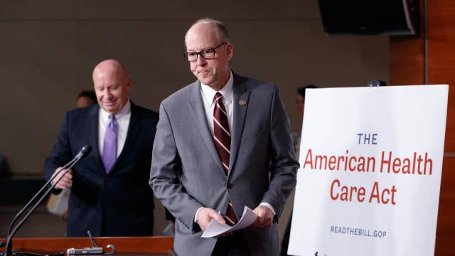 Rep. David Brat: GOP health care plan 'dead on arrival'