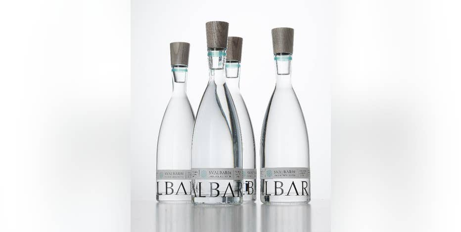 Svalbardi's CEO, Jamal Qureshi talks about their $100 bottled iceberg water.