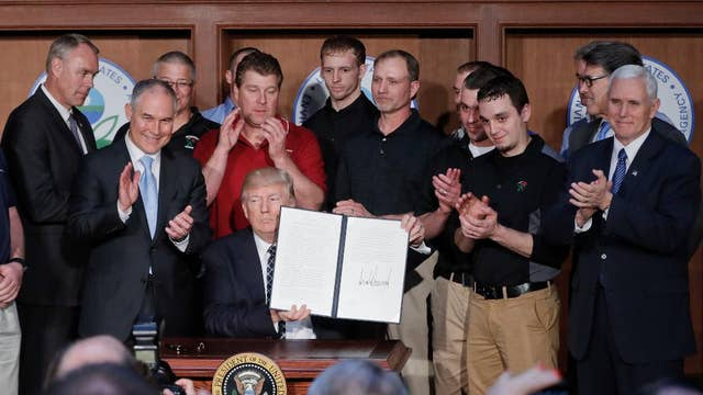 The significance of Trump's executive order to reduce environmental regulations