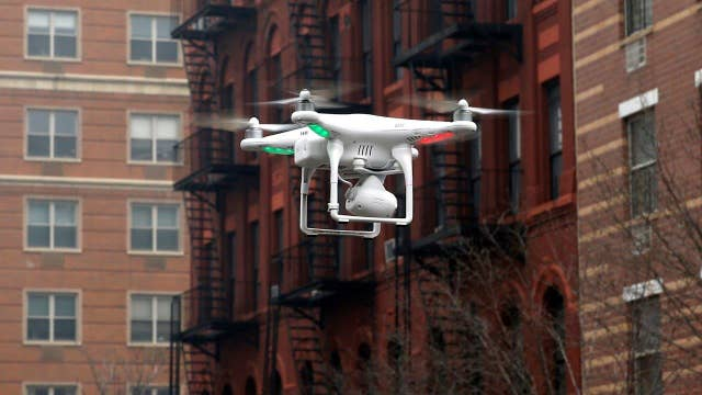 Shoot down a trespassing drone without civil liability?