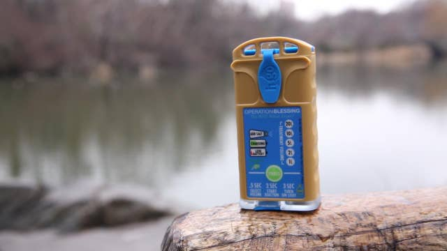 The device that can purify contaminated water anywhere