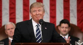 How does Trump's speech compare to his predecessors?