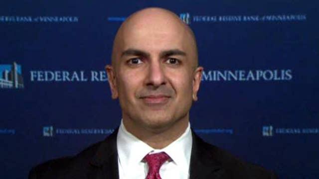 Fed's Kashkari on voting against latest interest rate hike