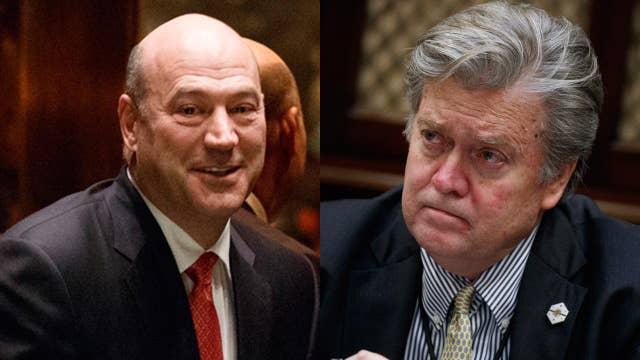 Gasparino: Sources claim Bannon, Cohn clash over economic policy