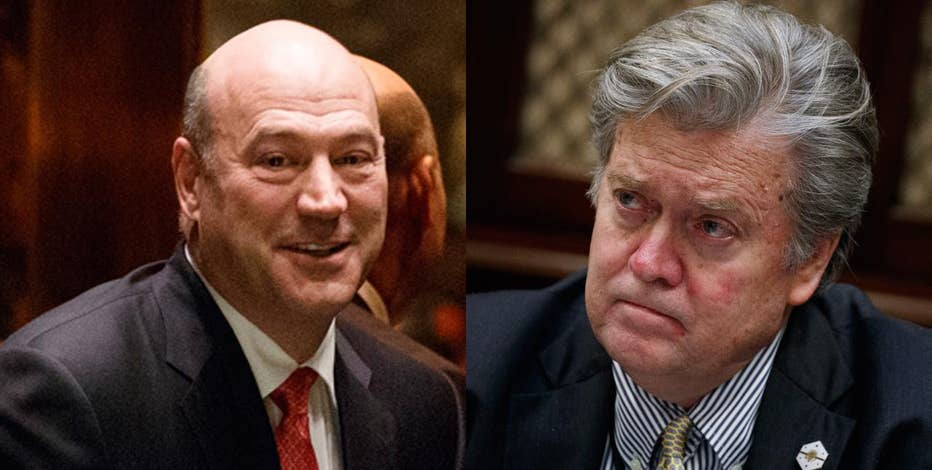 Sources tell FBN's Charlie Gasparino of a feud between President Trump's senior adviser Stephen Bannon, and Gary Cohn, who heads the president's National Economic Council.