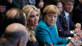 Trump: Ivanka to meet Merkel in Germany