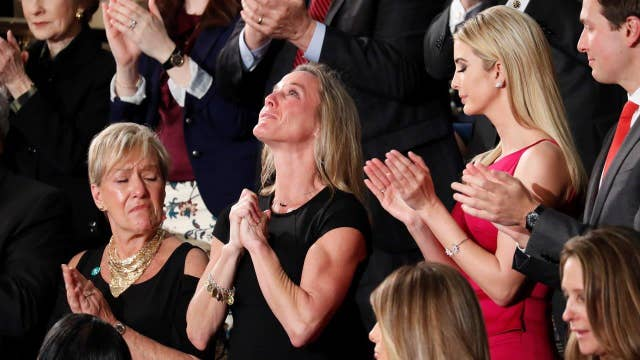 American Sniper widow stands up for Navy SEAL widow Carryn Owens