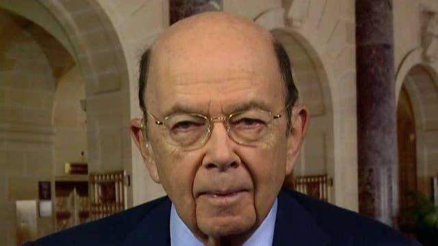 Wilbur Ross talks border tax and trade