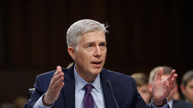 Gorsuch on defending the 'little guy'