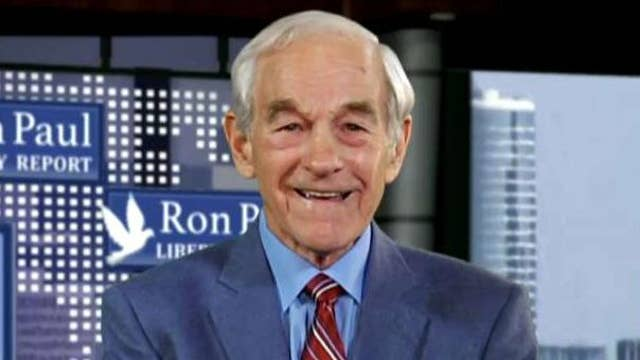 Ron Paul:  There will be major corrections in the market