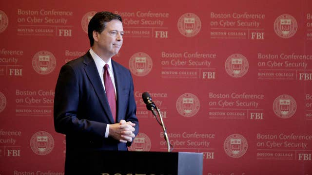 FBI's James Comey: You're stuck with me for another 6 ½ years