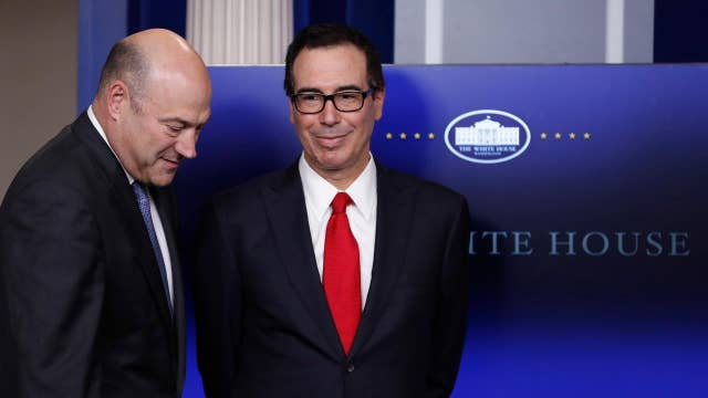 Mnuchin: Small, medium-size businesses will be eligible for the business tax rate