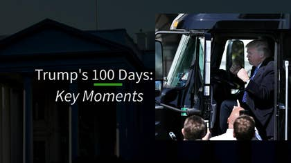 Trump's first 100 days key accomplishments