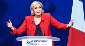 Does Marine Le Pen have a chance in the French election?