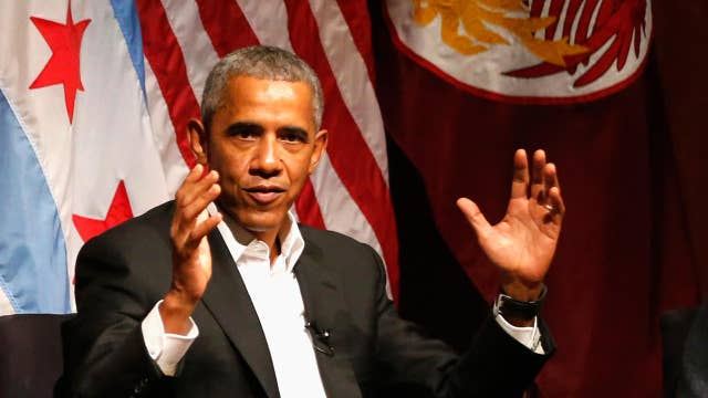 Obama's speaking fee in excess of $400K