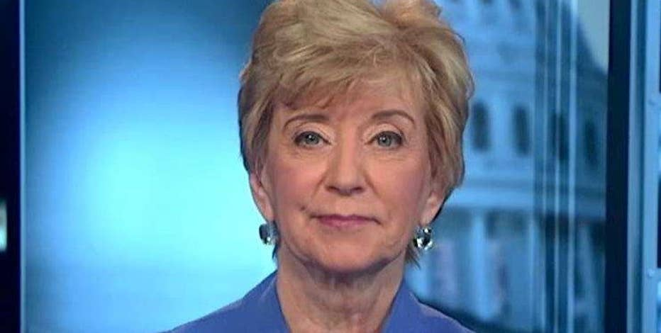 U.S. Small Business Administrator Linda McMahon hopes tax reform impacts small business in a positive way.